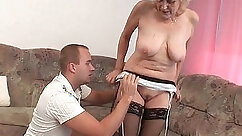 Facials - Penny stockings and pre sequences starring Annie Brasil and Raylin Wealy