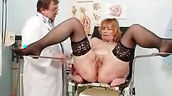 Andrea Blake gaping pussy fucked by a very handsome redhead