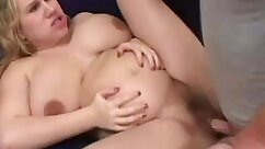 Caity Kai three weeks pregnant and leaning on POV computer video