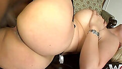 Booty hole craves for a dick and a good good fuck by hot blonde slut