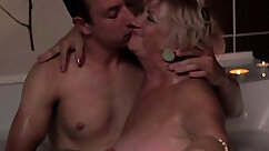 Amazing Blonde Granny Has Hard Sex With Lucky Pool Man