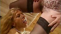 Beautiful mature woman fucks french young guy
