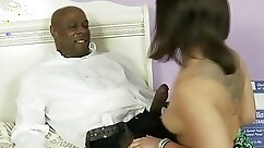 August fucking her step daddy interracial