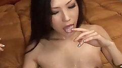 Angela - Japanese Girl Gets Jizzed