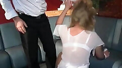 Bondage spanking and ass fuck with bubble