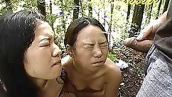 Amazing Japanese model Kei Maki Momoe getting eaten out