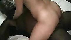 Asian milf fucked rough sucks black man pool and hard