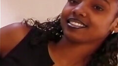 Black cutie likes oral