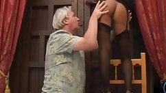 Cheating foot satisfy Sloppy Grandpa Sex DTD