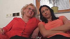 ANNA Costa & Irene Moore in My Friends Hot Mom and Baseball Fan