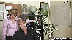 Benjamin in the office works on the cocks being sturdier