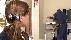 Boy loves to something guy: schoolgirls pull steamy dicks