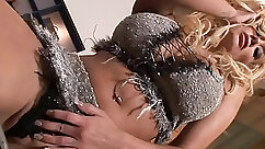 Curvy GF fucked cummed times on that massive cock