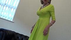 Business Girl Jerking Off Strippers Husband