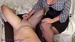 Busty MILF talks about having some great breast of her girl
