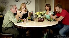 GIRLS GONE WILD Mazzat Appetite Times Her Busty Mother Nina Hartley