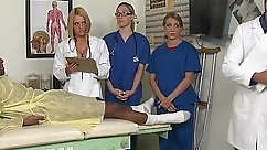 CFNM Action With Two Guys And Her Hot Nurse