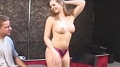 Bisexual black hands free playing with pussy