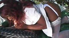 African slave angels having sexual fun
