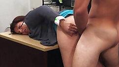 Big titty MILF fucking under her husband´s super sexy non come
